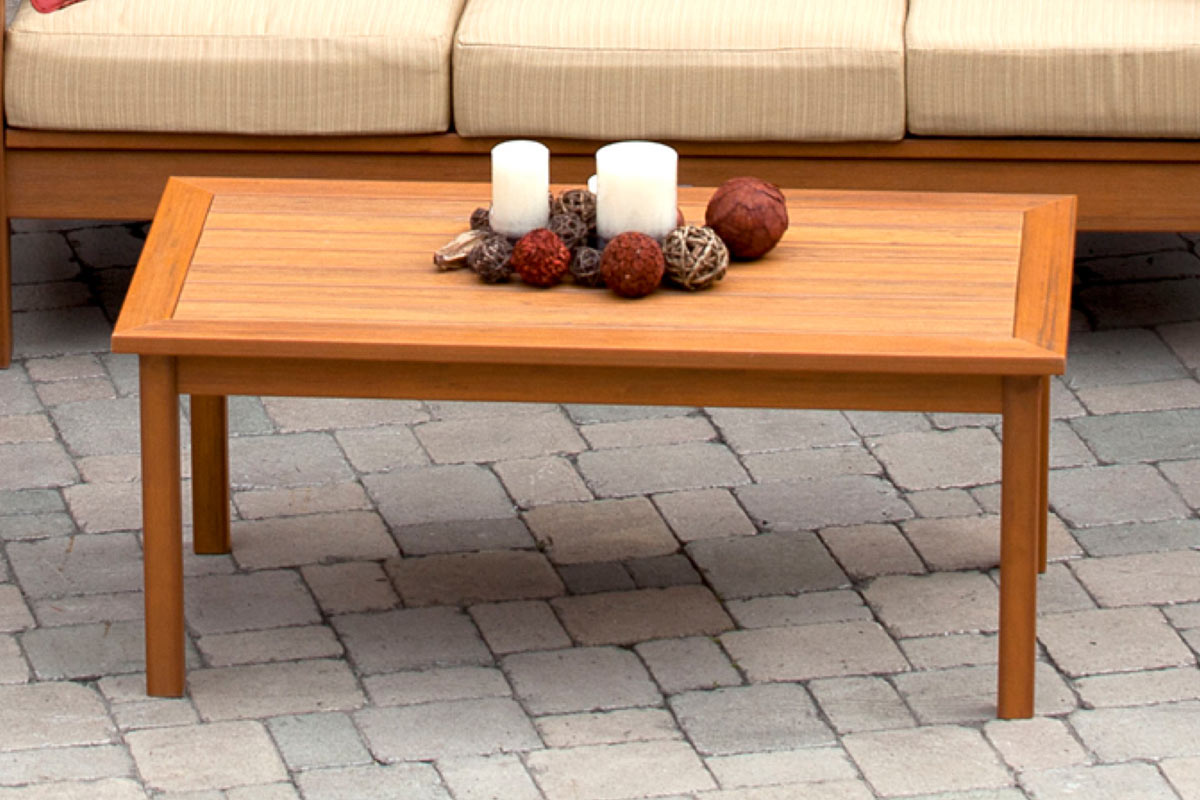 Deep Seating Rectangular Coffee Table