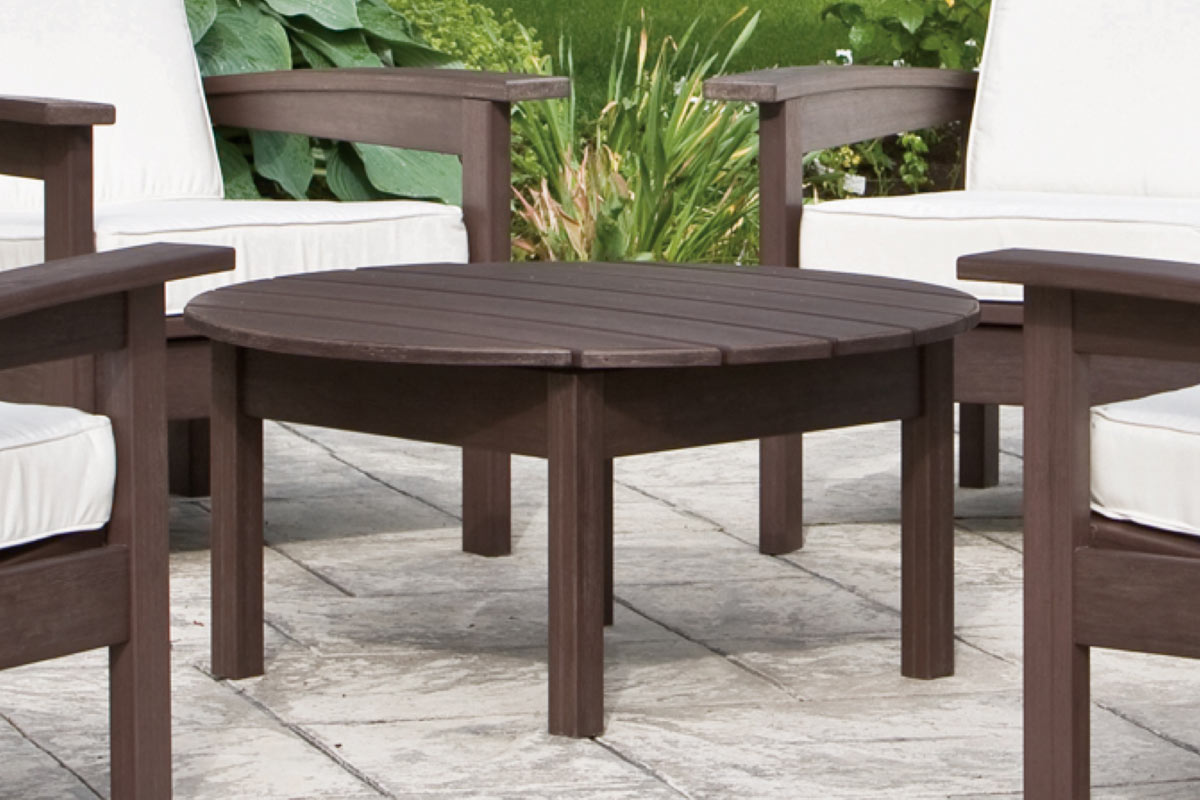 Deep Seating Round Coffee Table