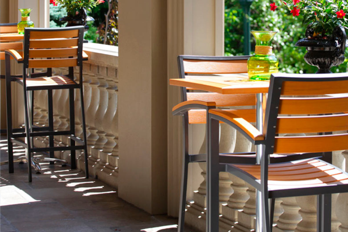 Commercial Bistro Seating