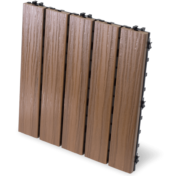 AURA Deck Tile - Walnut