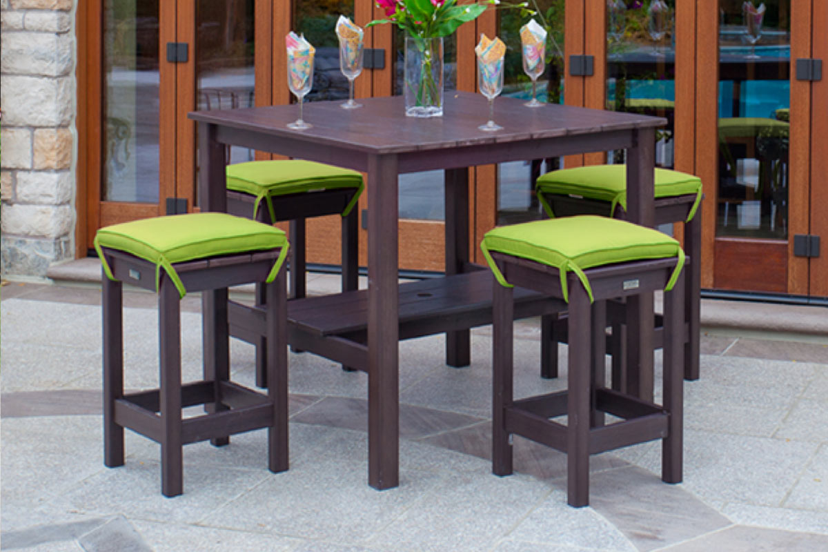 Milan Dining Table and Stools